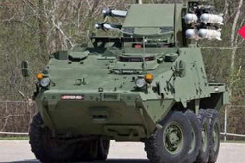 Mỹ giới thiệu phiên bản mới của xe bọc thép Stryker - Ảnh 2.