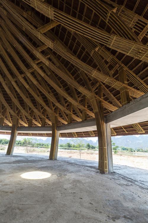 Nhà hàng hình nón làm từ 150.000 cây tre ở Kim Bôi khiến tạp chí kiến trúc Mỹ hết lời khen ngợi - Ảnh 10.