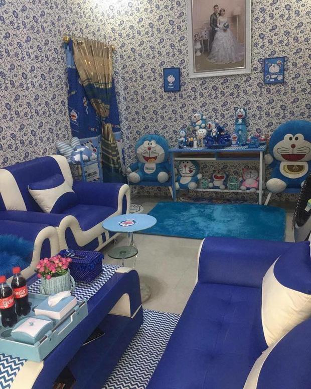 Đây là căn nhà khi hai vợ chồng đều là fan cuồng của mèo ú Doraemon cùng về sống chung! - Ảnh 10.