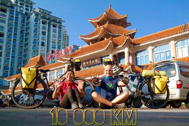 Cặp vợ chồng rong ruổi 11,000km trên xe đạp từ Hungary về Việt Nam: Hành trình trải nghiệm lòng tốt con người - Ảnh 10.