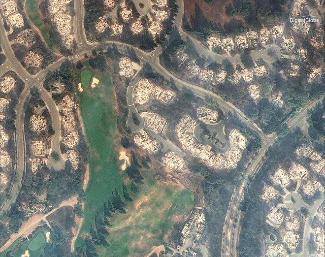 Mỹ: Toàn cảnh vụ cháy rừng khủng khiếp tại California qua những bức ảnh vệ tinh - Ảnh 10.