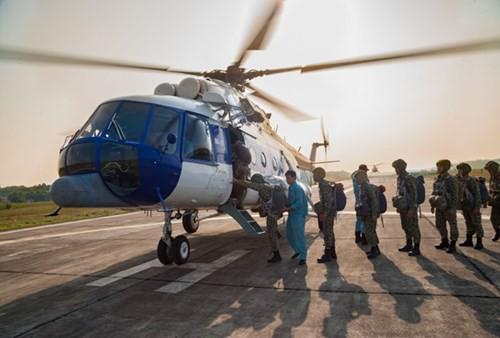 Bộ đội Đặc công nâng cao khả năng hiệp đồng tác chiến, đổ bộ đường không - Ảnh 2.