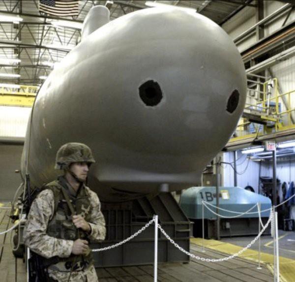 23 fotos reveladas: no solo la Fuerza Aérea, la Marina de los EE. UU. También tiene el Área 51 confidencial - Foto 7.