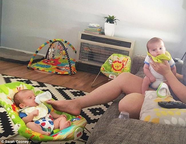 16 sáng kiến trông con của hội bố mẹ bỉm sữa siêu lười - Ảnh 10.