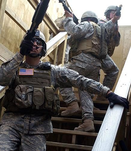 Ảnh: Đặc nhiệm Mỹ thực hành tác chiến cùng các loại vũ khí hiện đại - Ảnh 10.