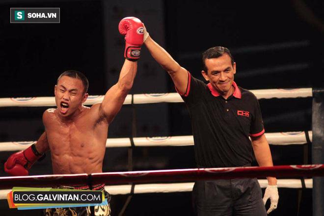"""""""Quả đấm thép"""" của Trung Quốc sẽ tỉ thí với võ sĩ Thái Lan, trả thù cho Yi Long - Ảnh 1."""
