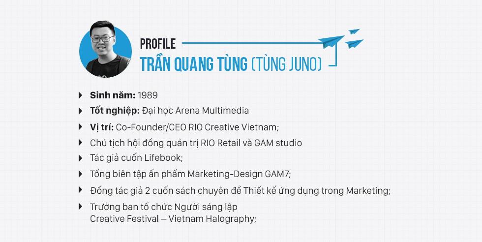 Tùng Juno và RIO Creative: Từ cậu học sinh bị bắt nạt đến thương hiệu tên tuổi ngành sáng tạo - Ảnh 3.