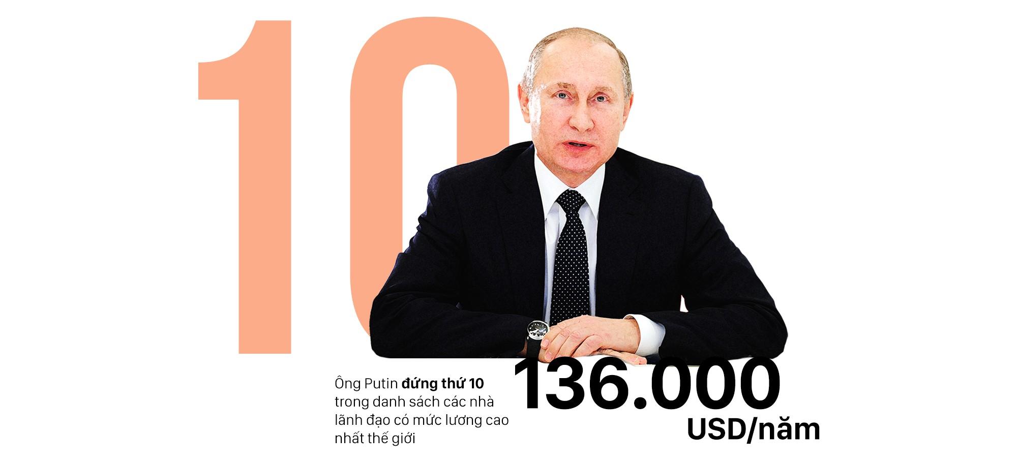 Tổng thống Nga Vladimir Putin: Chủ nhân Điện Kremlin 3 nhiệm kỳ và những con số đáng nể - Ảnh 4.