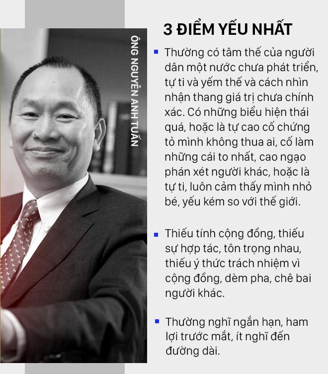 3 điểm YẾU NHẤT và 3 điểm MẠNH NHẤT của người Việt qua con mắt GS Nguyễn Tiến Dũng và ông Nguyễn Anh Tuấn - Ảnh 2.