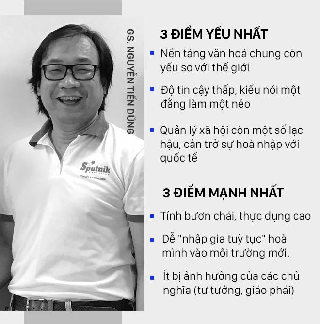 3 điểm YẾU NHẤT và 3 điểm MẠNH NHẤT của người Việt qua con mắt GS Nguyễn Tiến Dũng và ông Nguyễn Anh Tuấn - Ảnh 5.
