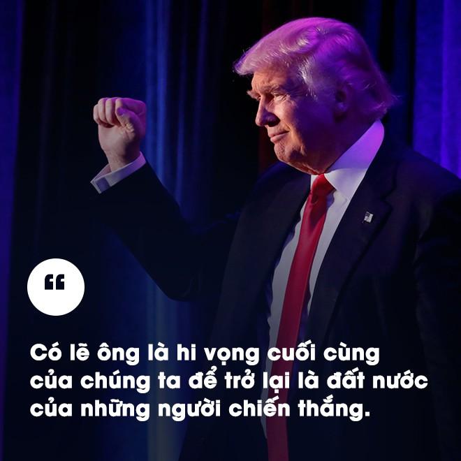 Chiếc ghế tổng thống Mỹ: Ông Donald Trump có cơ hội là một tổng thống vĩ đại - Ảnh 3.