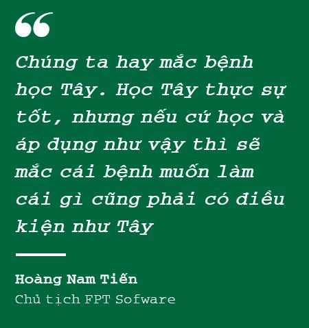 """Chủ tịch FPT Software Hoàng Nam Tiến: """"Nếu cứ phân tích SWOT như các bạn Tây thì không công ty Việt Nam nào dám bước ra khỏi biên giới"""" - Ảnh 4."""