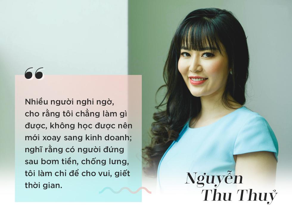 Hoa hậu Việt Nam 1994 Nguyễn Thu Thủy: Người ta nghĩ tôi có đại gia bơm tiền, chống lưng, kinh doanh chỉ để cho vui - Ảnh 4.