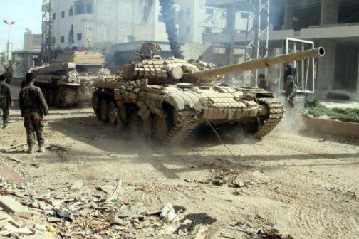 NÓNG: IS chính thức sụp đổ tại thành trì cuối cùng Deir Ezzor - QĐ Syria thắng vang dội - Ảnh 1.