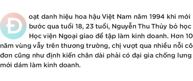 Hoa hậu Việt Nam 1994 Nguyễn Thu Thủy: Người ta nghĩ tôi có đại gia bơm tiền, chống lưng, kinh doanh chỉ để cho vui - Ảnh 1.