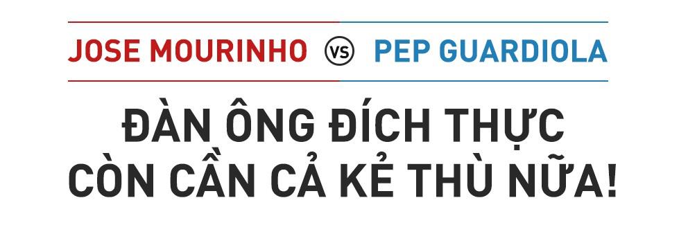 Mourinho, Pep & đại chiến Manchester: Đàn ông đích thực còn cần cả kẻ thù nữa! - Ảnh 1.