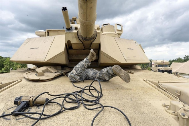 13 bức ảnh tuyệt đẹp về đời sống quân ngũ của lính Mỹ - ảnh 11