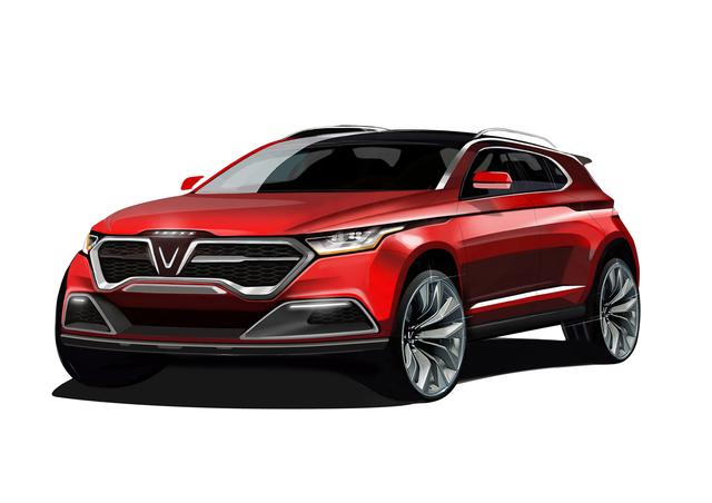Xe của VinFast: Xe sang, hạng D, thiết kế Ý, giá không dưới 1 tỷ đồng - Ảnh 2.