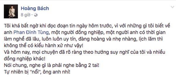 Vụ bắt nạt đàn em: Phan Đinh Tùng nếu không sai sao lại phải im lặng? - Ảnh 6.