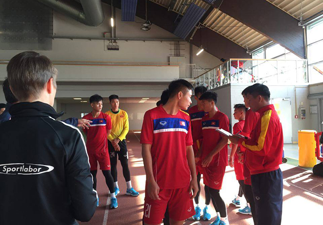 Đội trưởng Trọng Đại báo tin vui cho U20 Việt Nam và HLV Hoàng Anh Tuấn - Ảnh 1.