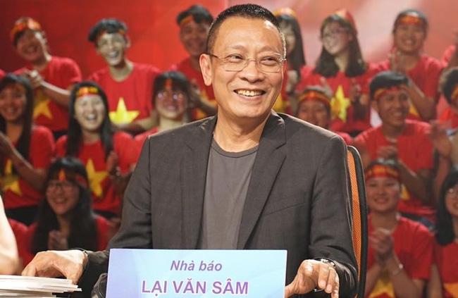 Nhà báo Lại Văn Sâm: Từ thanh niên bán hàng chợ Đồng Xuân tới MC VTV triệu người yêu mến - Ảnh 4.
