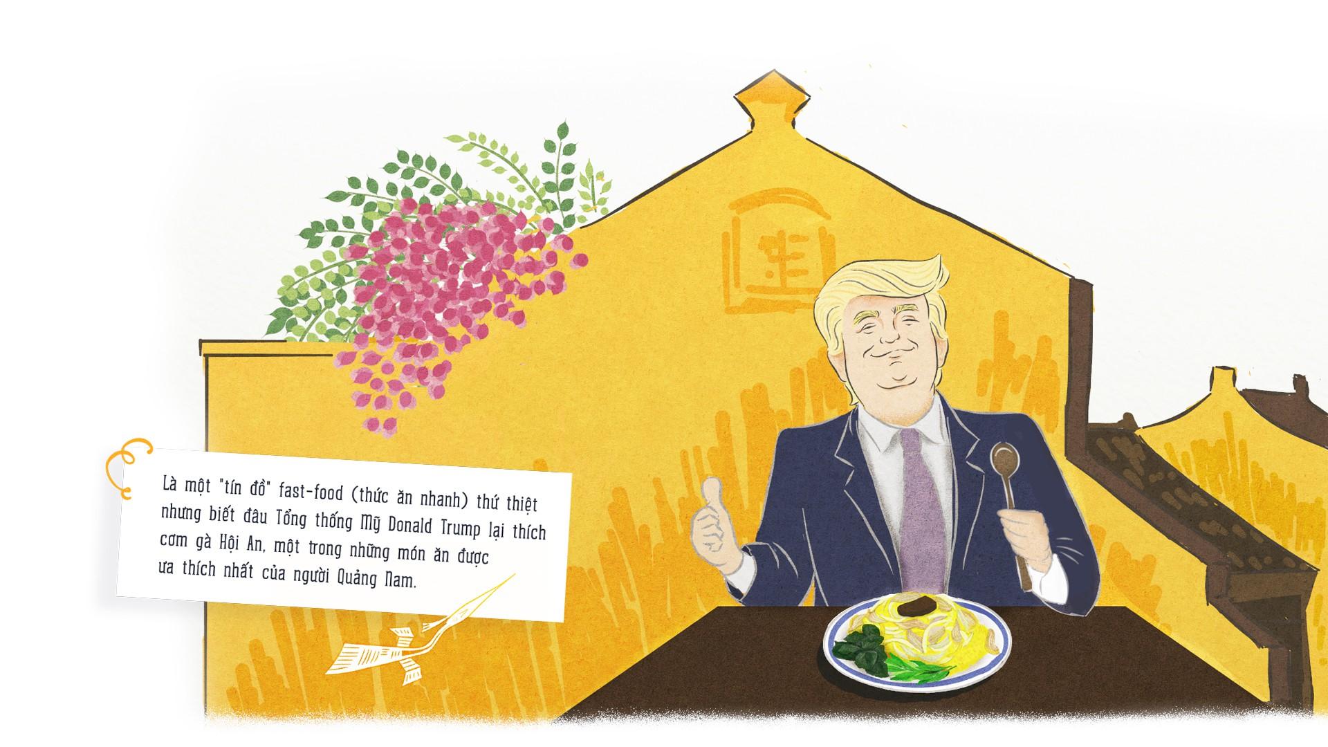 APEC du ký: Ông Putin sẽ chơi dù lượn, ông Trump sẽ thưởng thức cơm gà Hội An? - Ảnh 4.