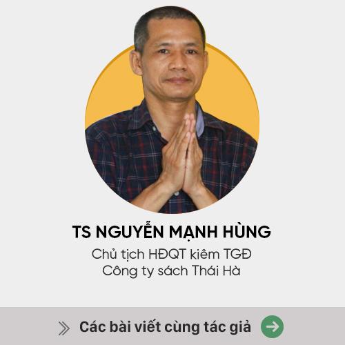 TS Nguyễn Mạnh Hùng: Tại sao tôi không thích được nhận hoa? - Ảnh 2.