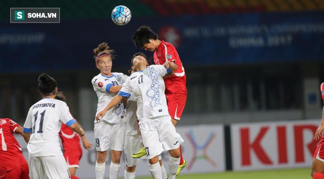 """Đả bại đối thủ, Triều Tiên vẫn """"buồn"""" vì không thể thắng trắng 9 bàn - Ảnh 1."""