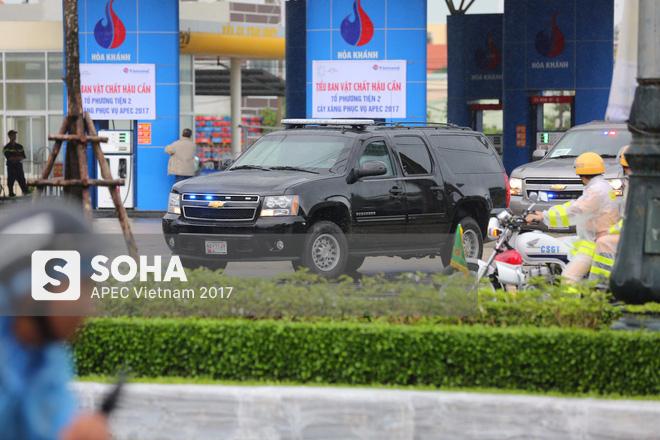 Dàn xe của tổng thống Trump hộ tống siêu xe Cadillac One The Beast xuất hiện trên phố Đà Nẵng - Ảnh 9.