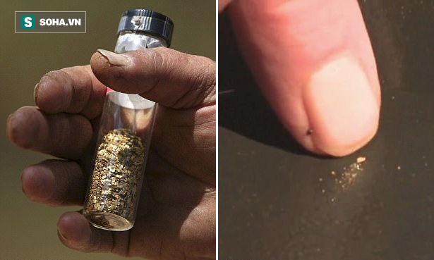 Mạch vàng 200 năm tuổi lộ diện nhờ cơn lũ lớn, hàng nghìn người đổ xô về tìm kiếm vận may - Ảnh 3.