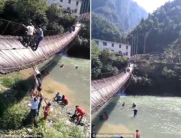 Nhóm du khách Trung Quốc trả giá đắt vì phớt lờ biển cảnh báo - Ảnh 2.