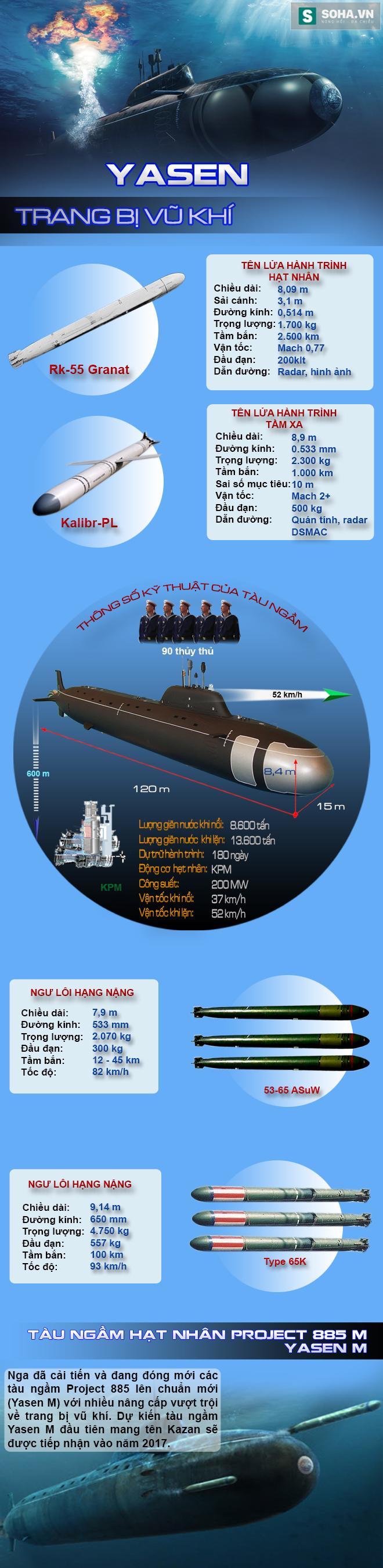 Đối thủ đáng gờm nhất của Hải quân Mỹ trong lòng biển sâu - Ảnh 1.