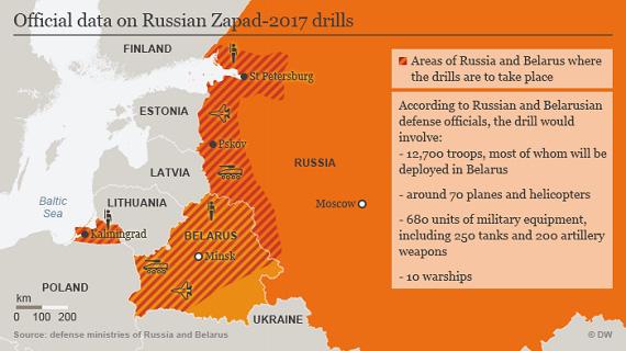 """""""Zapad-2017"""" chỉ là cuộc tập trận giữa Nga và Belarus, sao NATO phải hoảng loạn? - Ảnh 3."""