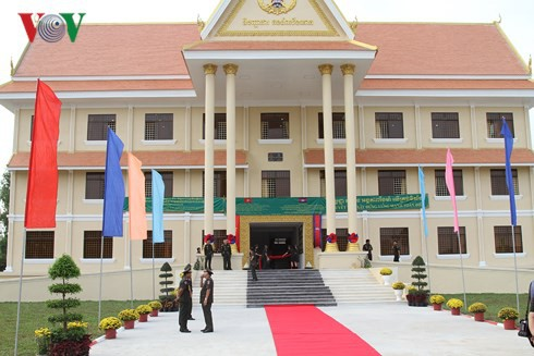 Quân đội Campuchia khánh thành công trình do Việt Nam tài trợ - ảnh 1