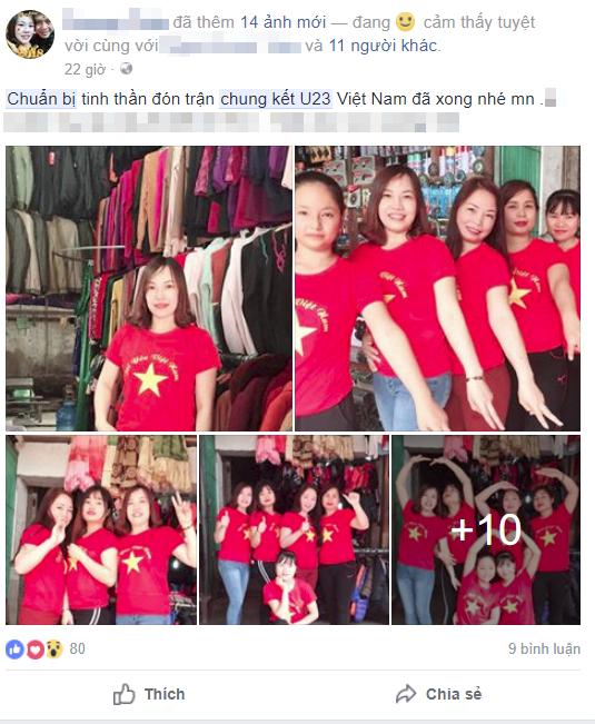 Cách chung kết 2 ngày, dân tình đã chuẩn bị sẵn sàng để bung lụa cùng U23 Việt Nam - Ảnh 1.