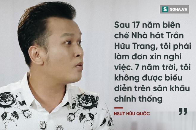 NSƯT Hữu Quốc: Bị đồng nghiệp tẩy chay, phải diễn show dành cho người đồng tính - Ảnh 5.