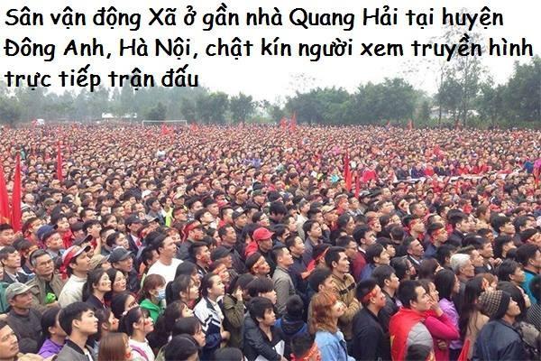 """""""Biển đỏ cổ vũ ĐT U23 Việt Nam khiến dân mạng Trung Quốc phải ngả mũ! - Ảnh 16."""