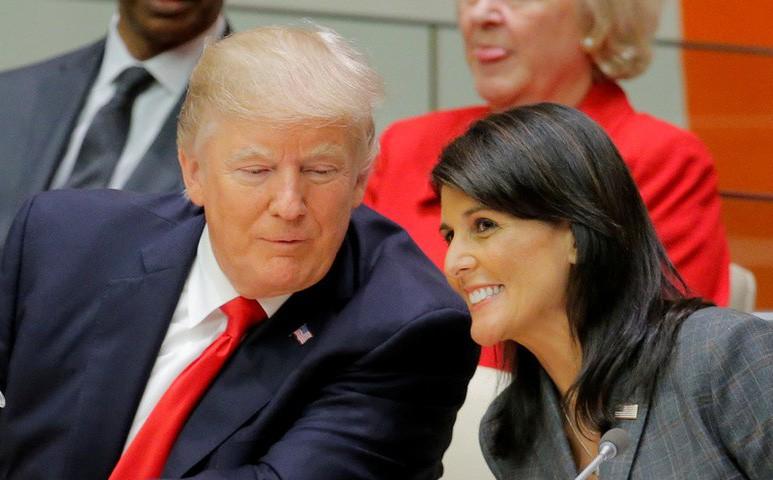 Đại sứ Mỹ tại LHQ bác đồn đoán về quan hệ tình ái với ông Trump: