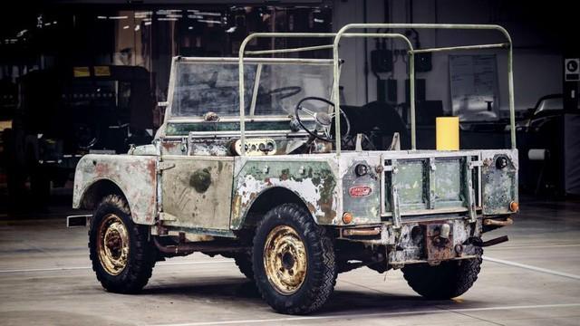 Land Rover sẽ phục chế chiếc xe kinh điển đầu tiên của hãng  - Ảnh 2.