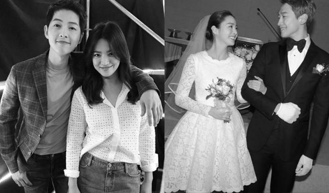 Hai đám cưới khủng nhất showbiz Hàn 2017: Mối lương duyên ngọt ngào của những ông hoàng, bà chúa - ảnh 2