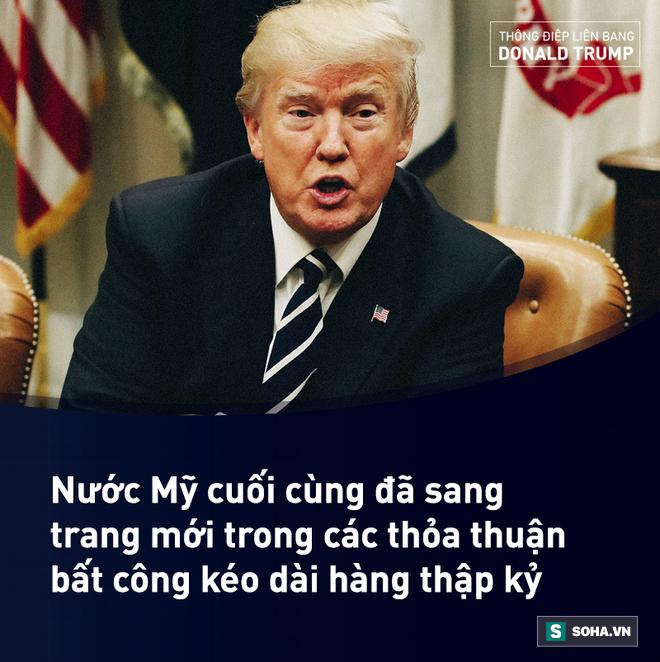 Toàn văn Thông điệp Liên bang đầu tiên trong nhiệm kỳ của tổng thống Mỹ Donald Trump - Ảnh 10.