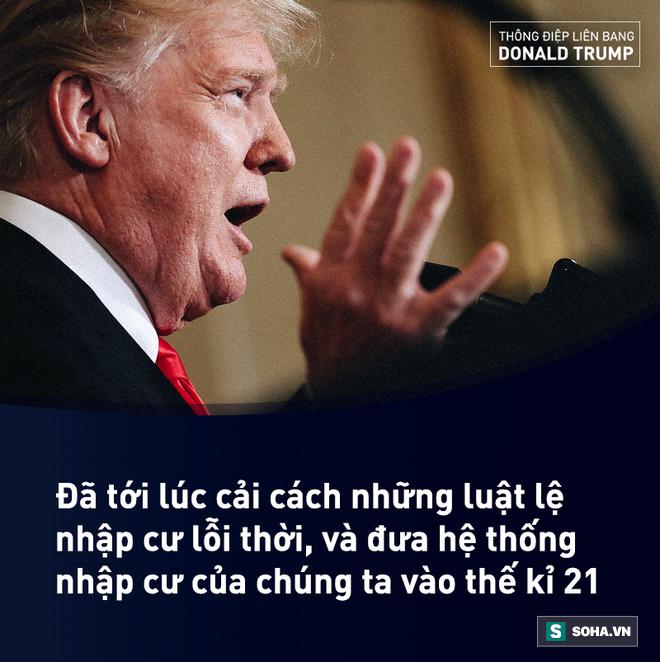 Toàn văn Thông điệp Liên bang đầu tiên trong nhiệm kỳ của tổng thống Mỹ Donald Trump - Ảnh 12.
