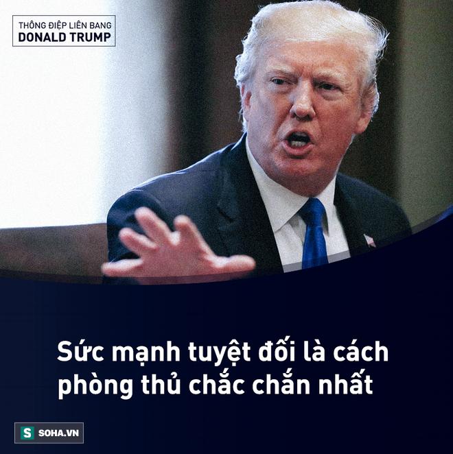 Toàn văn Thông điệp Liên bang đầu tiên trong nhiệm kỳ của tổng thống Mỹ Donald Trump - Ảnh 13.