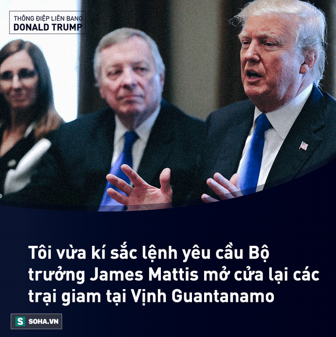 Toàn văn Thông điệp Liên bang đầu tiên trong nhiệm kỳ của tổng thống Mỹ Donald Trump - Ảnh 14.