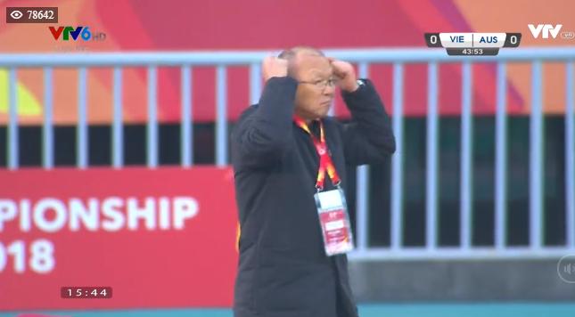 TRỰC TIẾP U23 Việt Nam 1-0 U23 Australia: VÀO!!! QUANG HẢI! VÀO!!! - Ảnh 4.