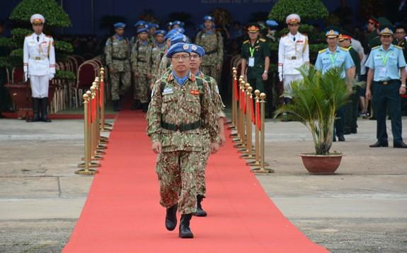 Bệnh viện dã chiến cấp 2 số 1 Việt Nam xuất quân thực hiện nhiệm vụ tại Phái bộ Gìn giữ hòa bình Liên hợp quốc Nam Sudan - ảnh 10