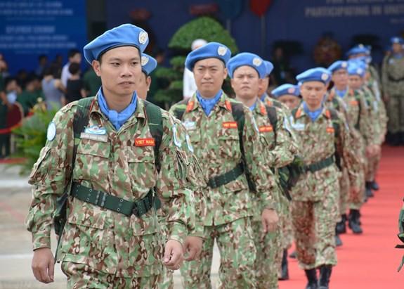 Bệnh viện dã chiến cấp 2 số 1 Việt Nam xuất quân thực hiện nhiệm vụ tại Phái bộ Gìn giữ hòa bình Liên hợp quốc Nam Sudan - ảnh 8