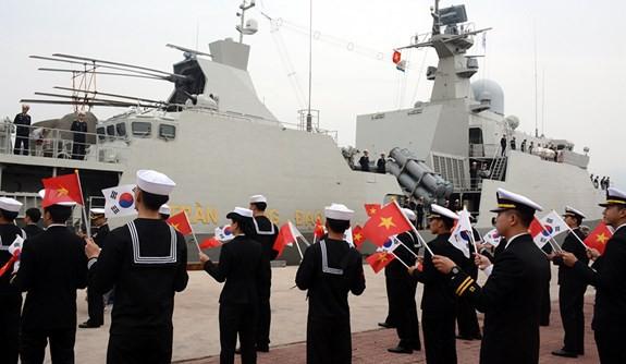 Tàu 015-Trần Hưng Đạo tham dự duyệt binh tàu quốc tế tại Jeju, Hàn Quốc - ảnh 5