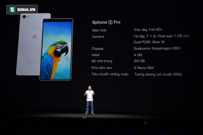 Bphone thế hệ 3: Thực sự là chiếc smartphone chất thật - Ảnh 10.