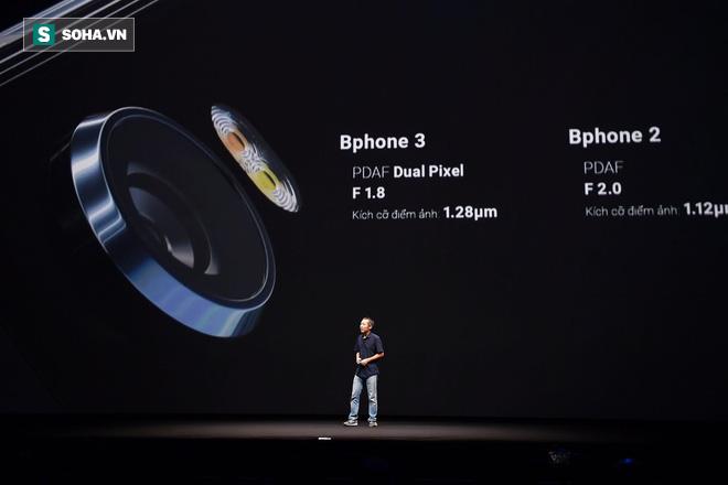 Bphone thế hệ 3: Thực sự là chiếc smartphone chất thật - Ảnh 9.